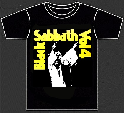 "BLACK SABBATH ""Vol. 4"" (tshirt)"