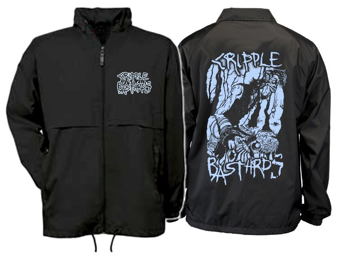"CRIPPLE BASTARDS ""Skulldigger"" (windbreaker)"