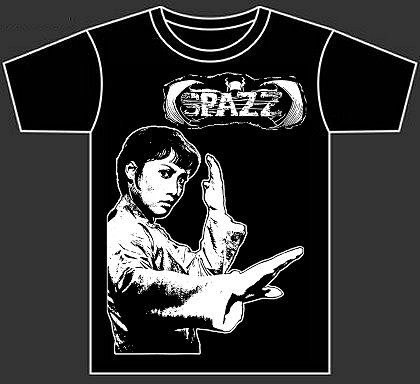 "SPAZZ ""kung fu girl"" design"