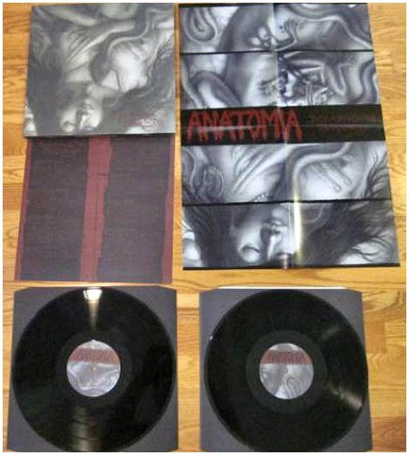 "ANATOMIA ""Decaying in obscurity"" 2 x LP!"