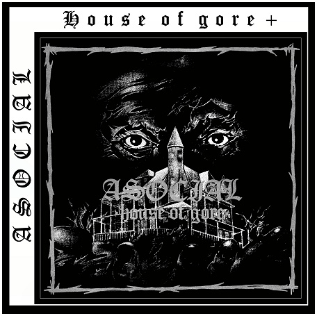 "ASOCIAL ""House of gore +"" (black)"