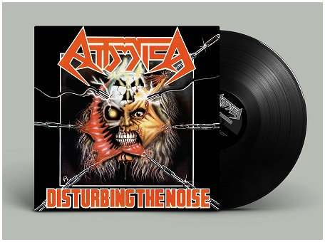 "ATTOMICA ""Disturbing the noise"" (black vinyl)"