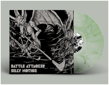 "BATTLE ATTACKER ""Silly notice"" (diehard green)"