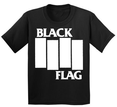 BLACK FLAG (logo) tshirt