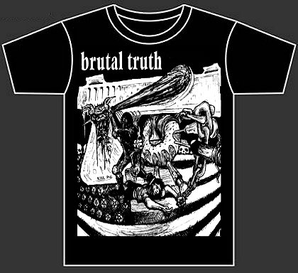 "BRUTAL TRUTH ""Kill pig"""