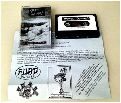 "CRIPPLE BASTARDS ""From 1988 to 1991"""