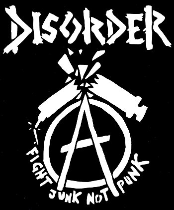"DISORDER ""Fight junk.."""