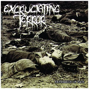 "EXCRUCIATING TERROR ""Expression of pain"""