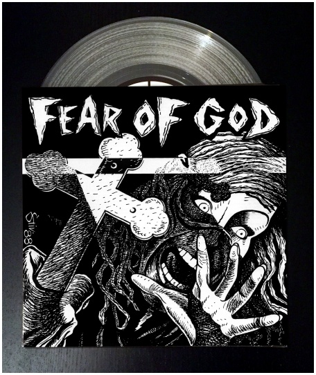 "FEAR OF GOD ""s/t\"" (12\"" version - clear vinyl)"