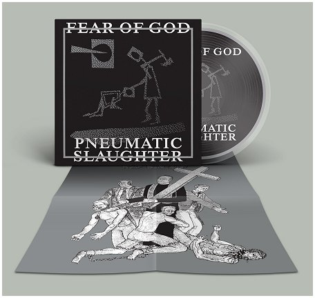 "FEAR OF GOD ""Pneumatic slaughter - extended\"" (diehard Picture LP"