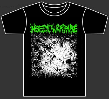 INSECT WARFARE (tshirt)