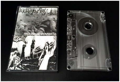 "The KRUSHERS / SERVITUDE ""Split"""