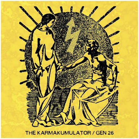 "THE KARMAKUMULATOR / GEN 26 ""Split"" (colored vinyl)"