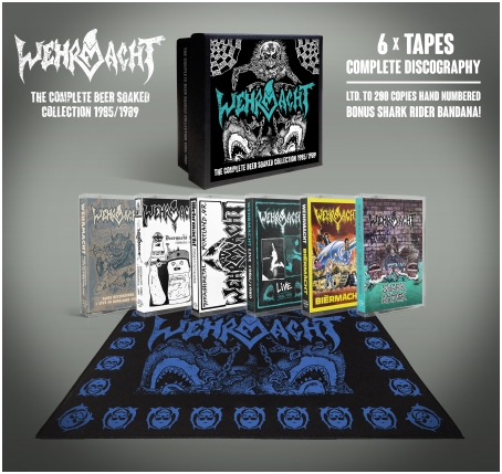 "WEHRMACHT ""Complete beer-soaked collection"" 6xTAPE BOXSET"