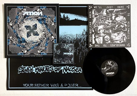 "7 MON ""Our conscience will not acclimatise"" LP+CD (black)"