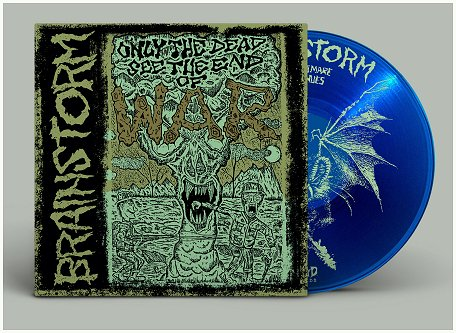 "BRAINSTORM ""Only the dead see the end of war\"" (ltd. blue vinyl)"