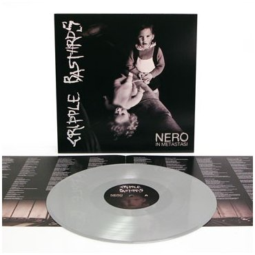 "CRIPPLE BASTARDS ""Nero in metastasi"" (GREY VINYL)"