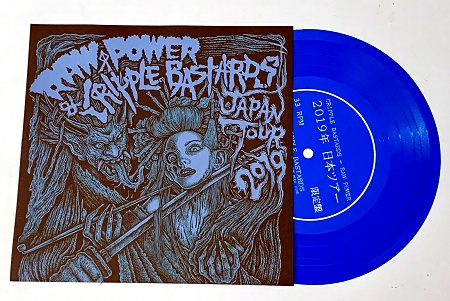"CRIPPLE BASTARDS / RAW POWER ""Japan Tour 2019"" ltd. flexi EP"