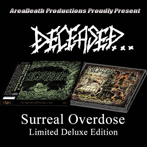 "DECEASED ""Surreal overdose"" (w/ slipcase + OBI)"