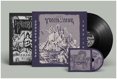 "FCDN TORMENTOR ""Dungeon days\"" LP+CD (black vinyl)"
