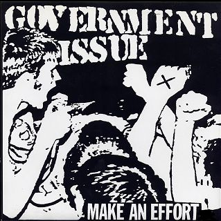 GOVERNMENT ISSUE (make an effort)
