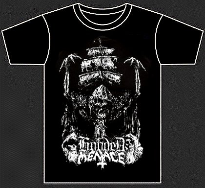 "HOODED MENACE ""Ghost galleon"" (t-shirt)"