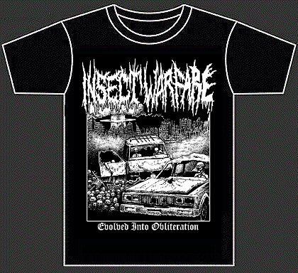 "INSECT WARFARE ""Evolved Into Obliteration"" (t-shirt)"
