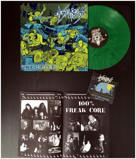 "JESTER BEAST ""The lost tapes of poetical..\"" LP+CD(diehard color)"