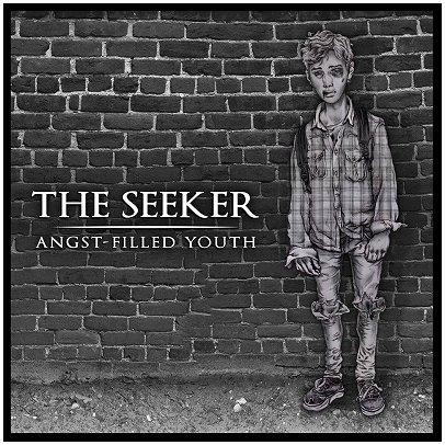 "THE SEEKER ""Angst-filled youth"" (one-sided silk screened LP)"