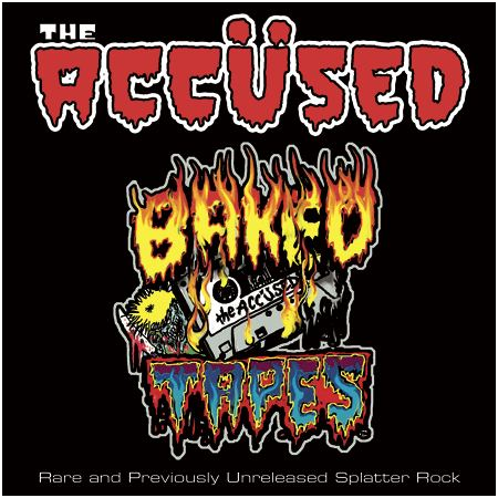 "THE ACCUSED ""Baked tapes"" [SPLATTER VINYL!]"
