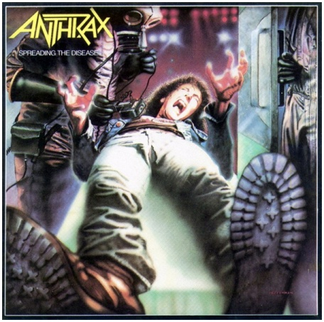 "ANTHRAX ""Spreading the disease"" (original Italian pressing,1985)"