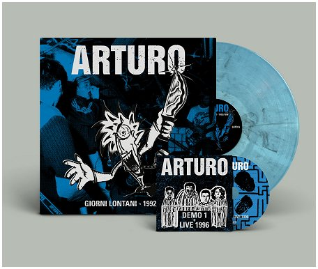 "ARTURO ""Giorni lontani 1992-98"" LP+CD (diehard clear blue)"