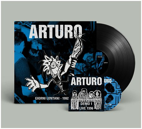 "ARTURO ""Giorni lontani 1992-98"" LP+CD (black)"
