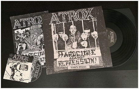 "ATROX ""Hardcore against repression"" LP+CD (black vinyl)"