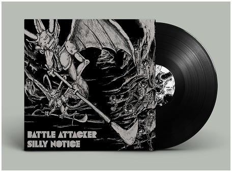 "BATTLE ATTACKER ""Silly notice"" (black)"