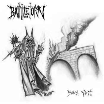 "BATTLETORN ""Burn fast"""