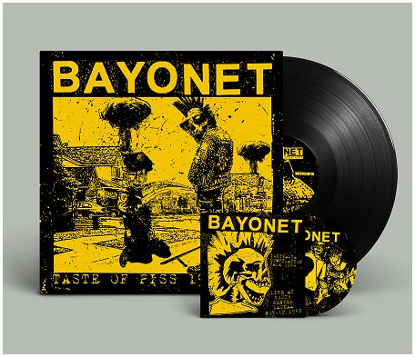 "BAYONET ""Taste of piss 1982-83"" LP+CD (black)"