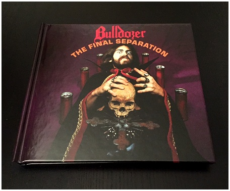 "BULLDOZER ""The final separation\"" deluxe DIGIBOOK"
