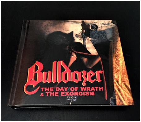 "BULLDOZER ""The day of wrath + The exorcism\"" 2xCD deluxe DIGIBOOK"