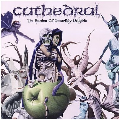 "CATHEDRAL ""The garden of unearthly delights"" ltd.scented digipak"