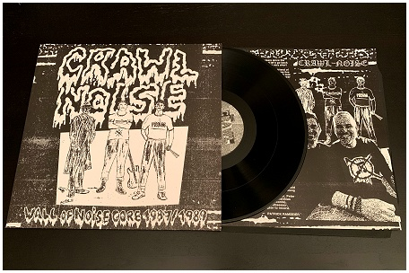 "CRAWL NOISE ""Wall of Noisecore 1987/89\"" (black) PREORDER"