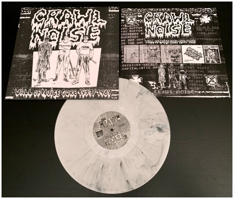 "CRAWL NOISE ""Wall of Noisecore 1987/89\"" (diehard marbled)"