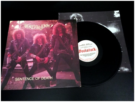 "DESTRUCTION ""Sentence of death"" [RARE! Brazilian pressing,1987!]"
