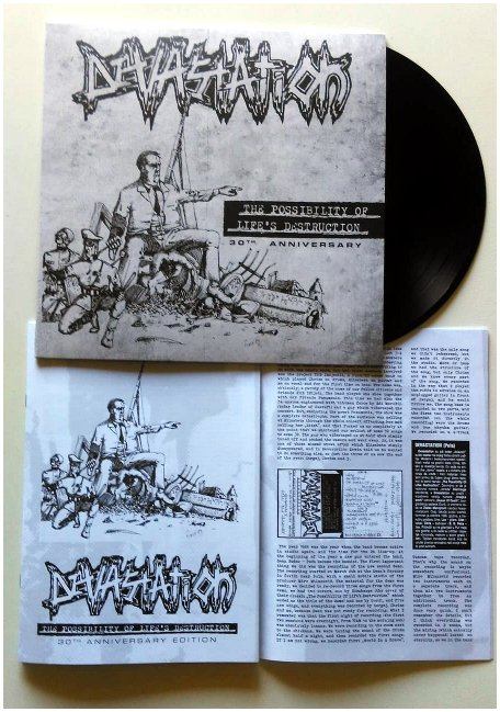 "DEVASTATION ""The possibility of life\'s..\"" LP+CD (black)"