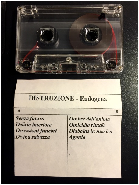 "DISTRUZIONE ""Endogena"" (RARE! Promo tape version, 1996)"