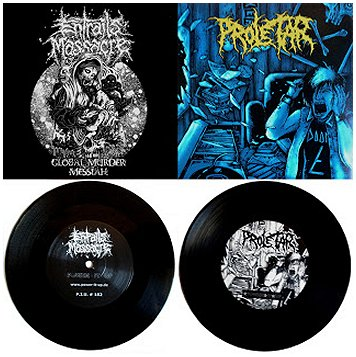 "ENTRAILS MASSACRE / PROLETAR ""Split"""
