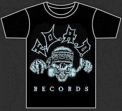 F.O.A.D. Records (Official t-shirt)