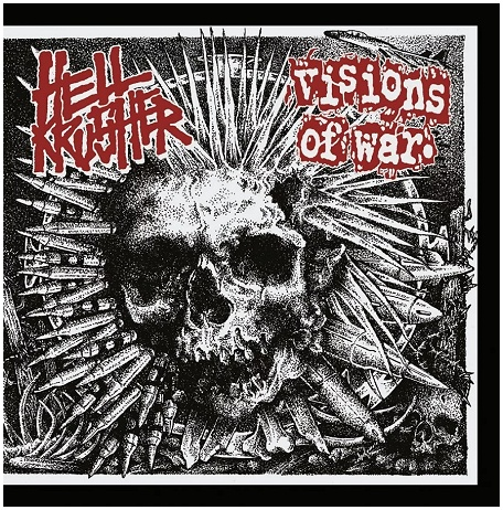 "HELLKRUSHER / VISIONS OF WAR ""Split"""
