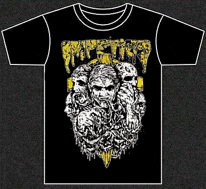 "IMPETIGO ""Zombies"" (t-shirt)"
