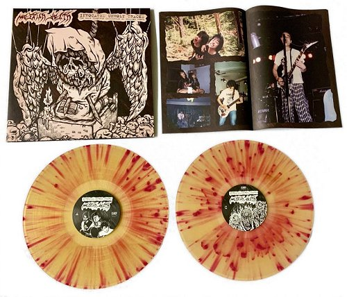 "MESSIAH DEATH ""Invocated unholy tracks"" (diehard splatter) 2xLP"